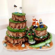 Свадебный торт Аниме