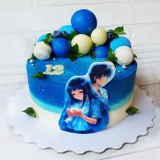 Торт в стиле Аниме