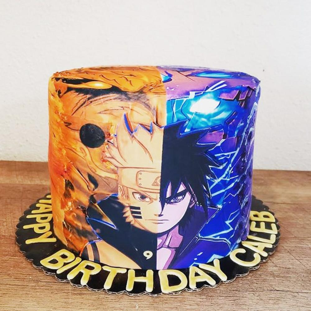 Торт Аниме для мальчика