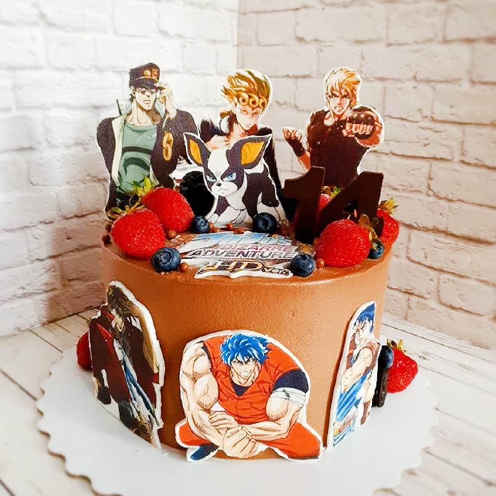 Торт аниме ДжоДжо