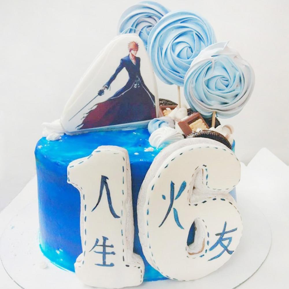 Торт с Ичиго Куросаки