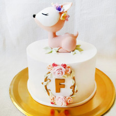 Торт храбрый олененок