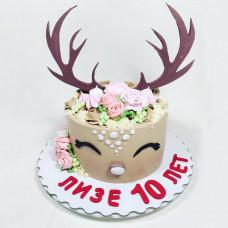 Торт олень