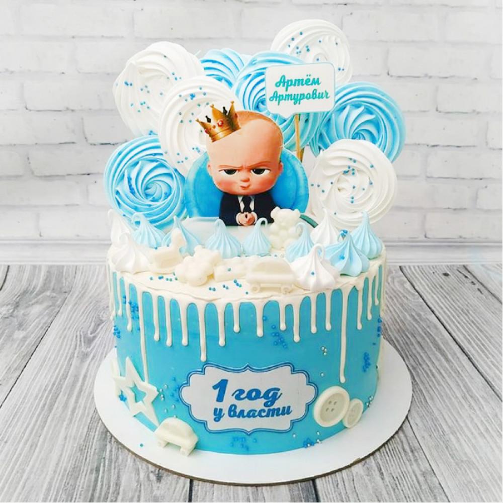 Торт 1 год у власти для мальчика