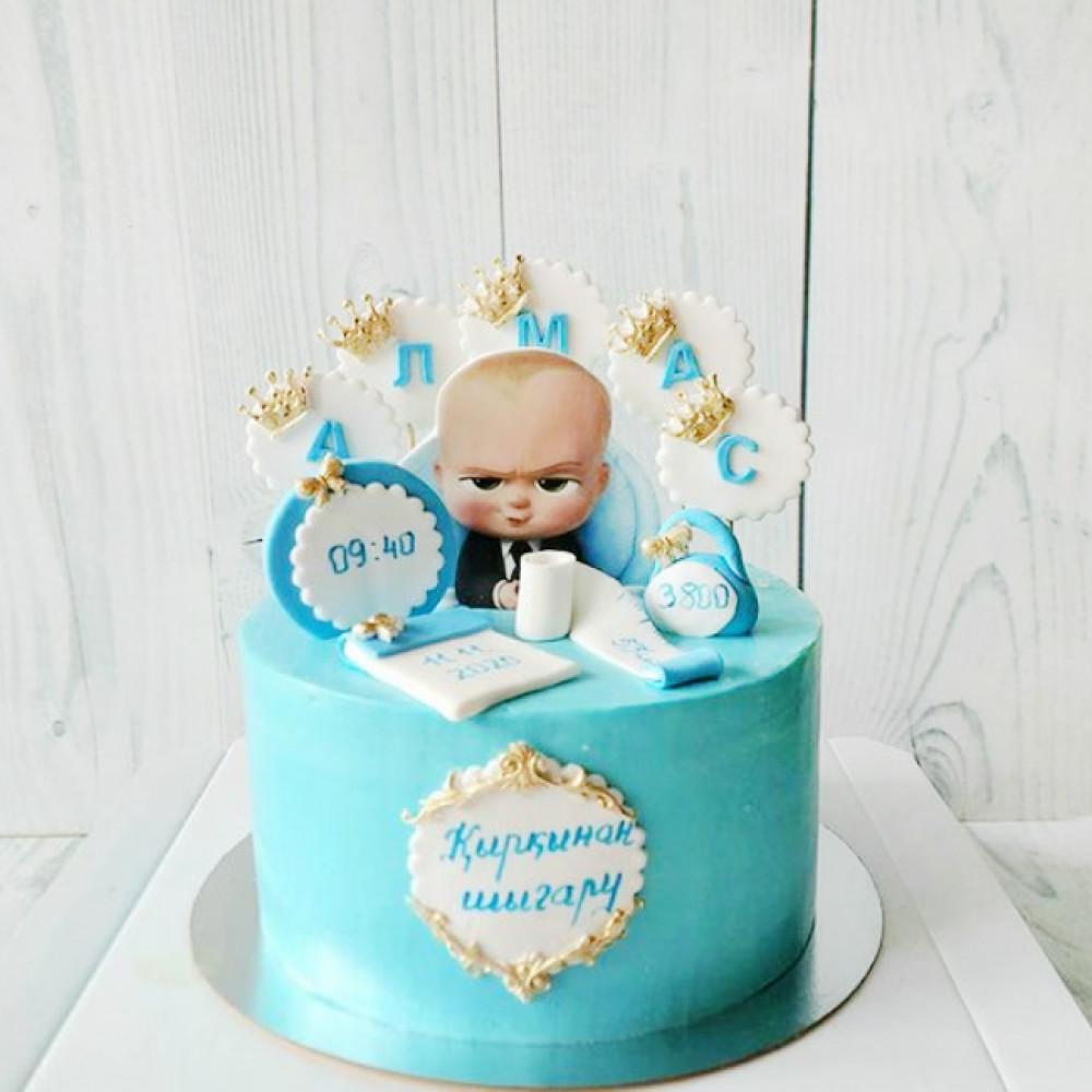 Торт в стиле Босс молокосос