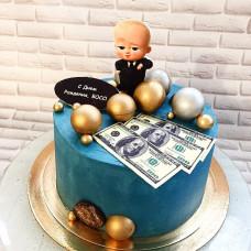 Босс-молокосос торт для мальчика