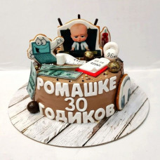 Торт 30 лет у власти
