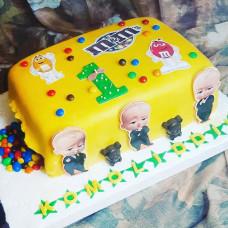 Торт с босс молокосос 1 год