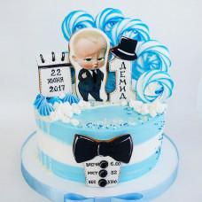 Торт на день рождения Босс молокосос