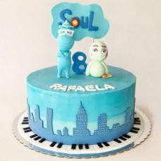 Торт Душа на 8 лет