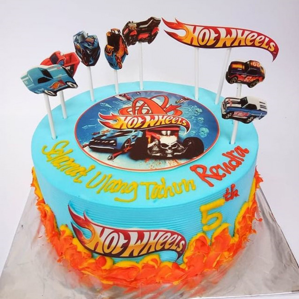 Детский торт Хот Вилс