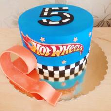 Торт мальчику на 5 лет Хот Вилс