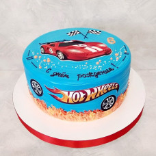 Торт спортивная машина Хот Вилс