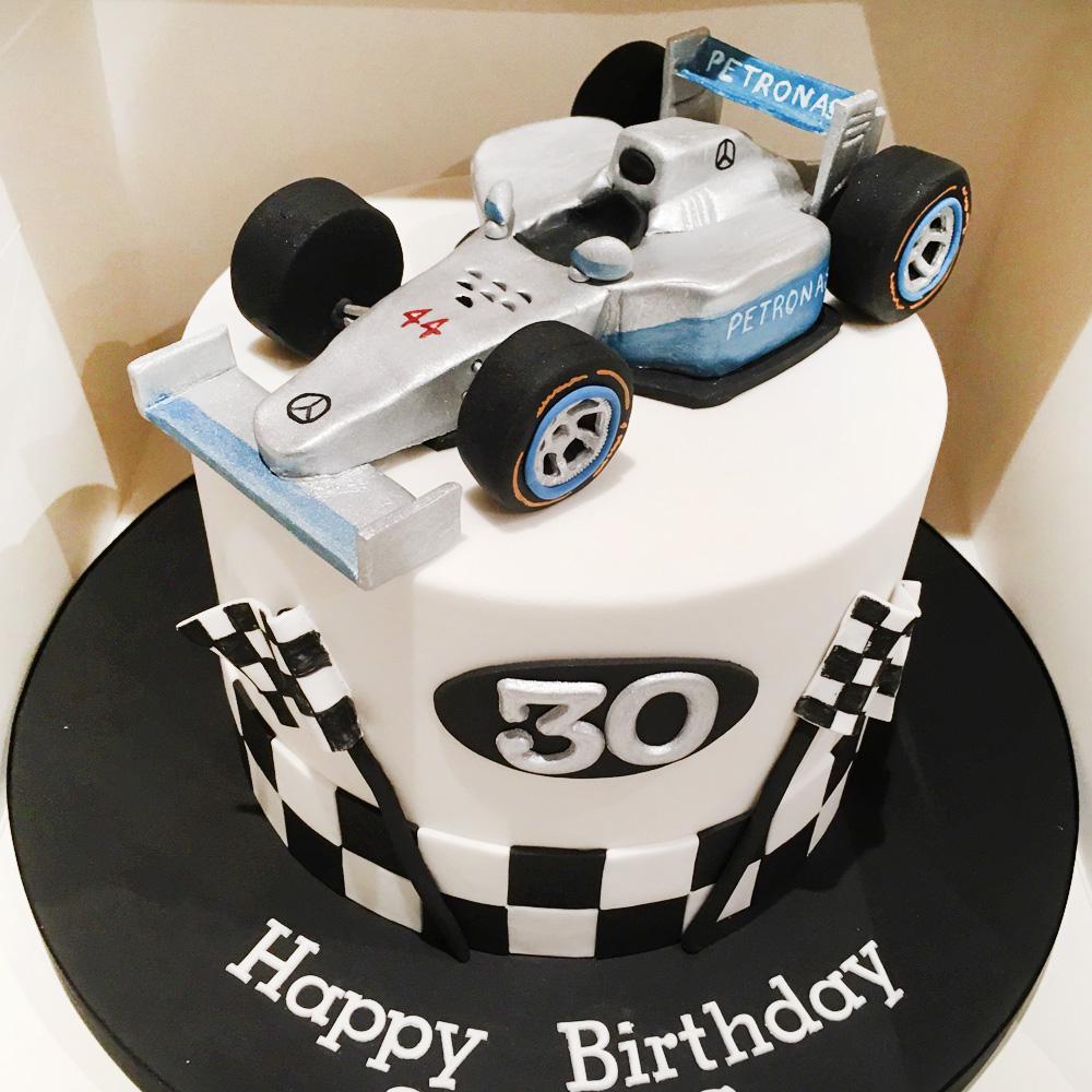 Торт Hot Wheels F1