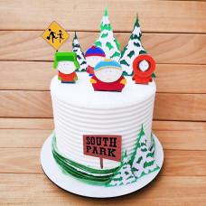 Торт South Park на Новый год