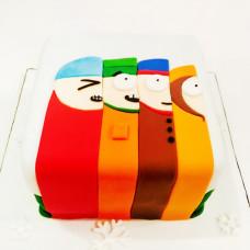 Торт в стиле South Park