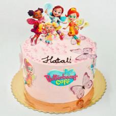 Торт на тему Кафе Баттербин