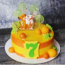 Торт Симба и Нала