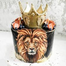 Торт в стиле Король лев