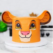 Детский торт Король лев