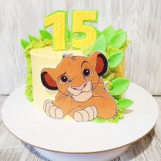 Торт Король лев для девочки