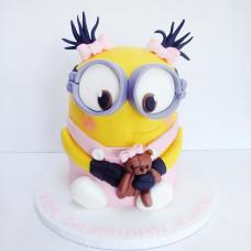 Торт Миньон для девочки