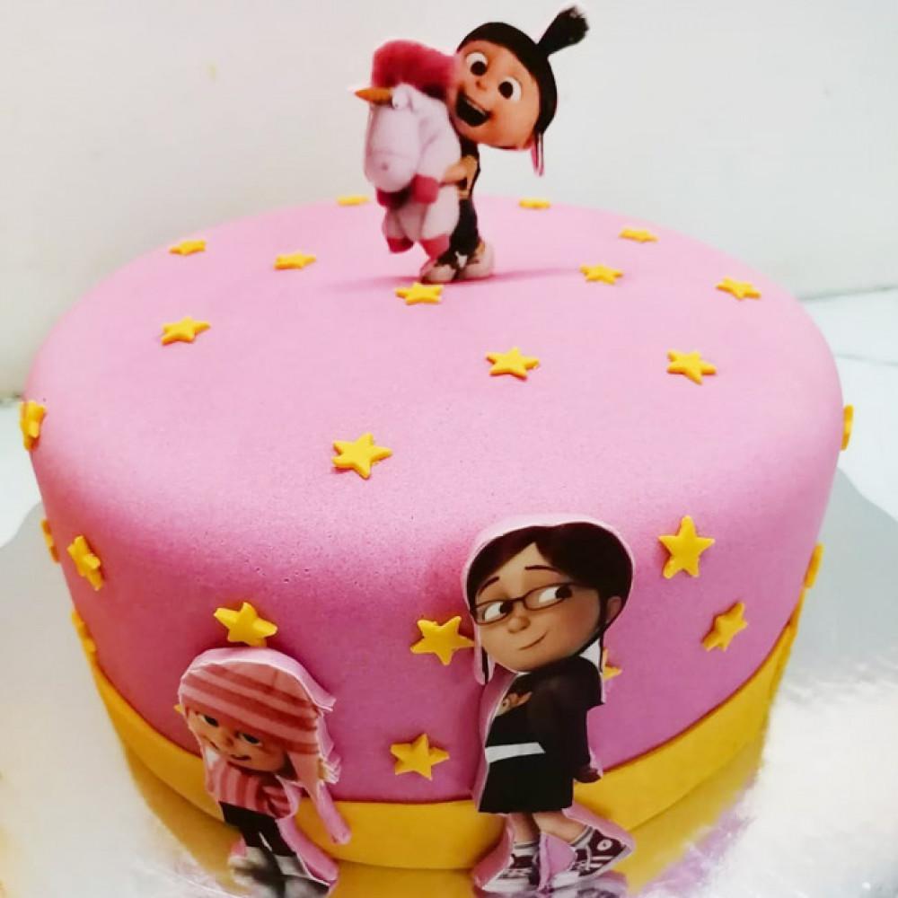 Торт девочка Эдит Грю