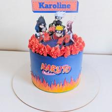 Торт в стиле аниме Наруто