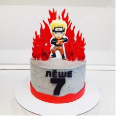 Торт Наруто на 7 лет мальчику