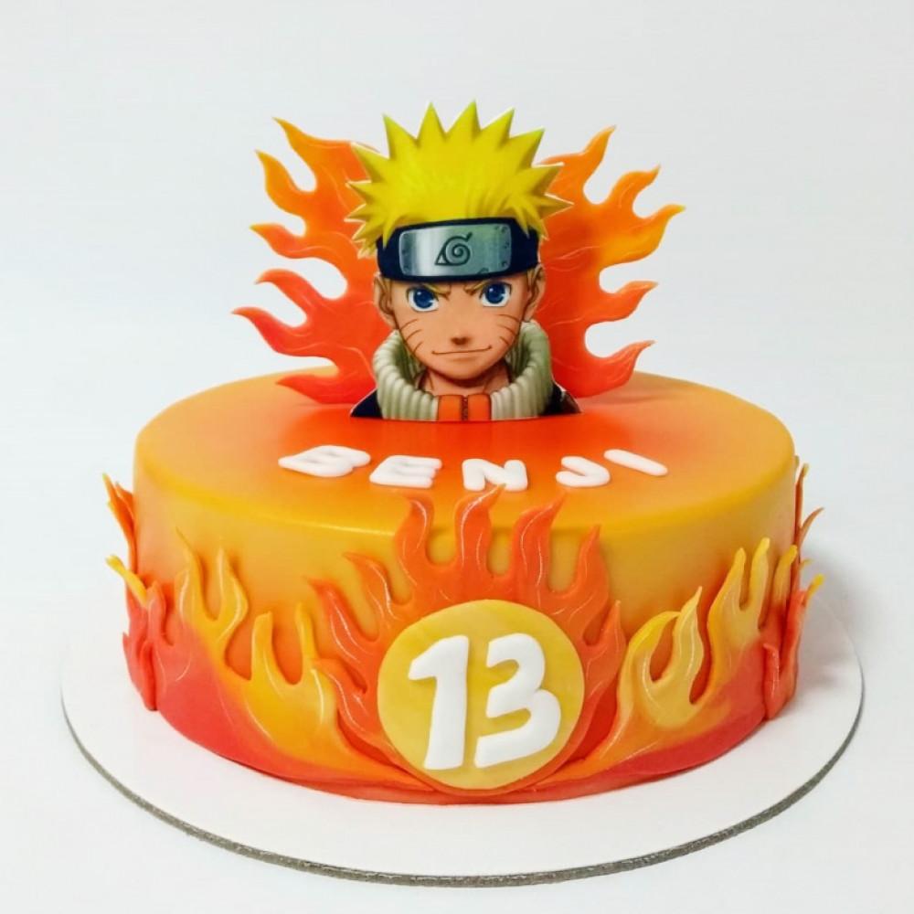 Торт Наруто на 13 лет мальчику