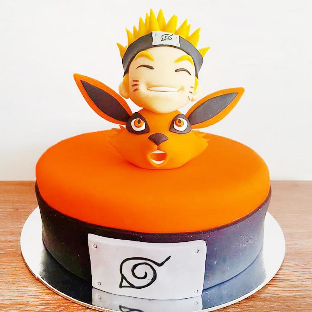 Торт зверь Курамо и Наруто