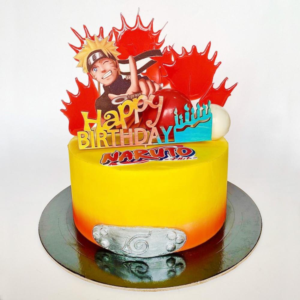Торт на праздник в стиле Аниме