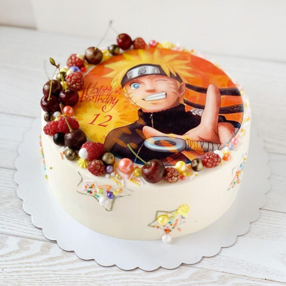Торт Наруто на 12 лет