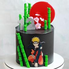 Торт с Наруто дочке