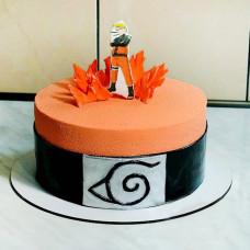 Торт с топпером Наруто