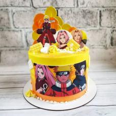 Торт Аниме подруге