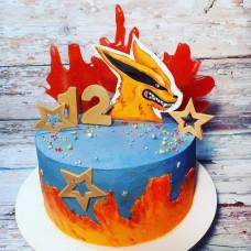 Торт на 12 лет в стиле Аниме