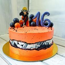 Торт в стиле Наруто