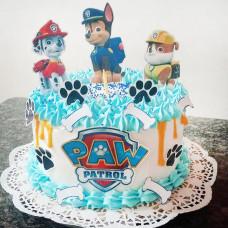 Торт Щенячий патруль на годик