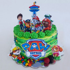 Торт башня Щенячий патруль