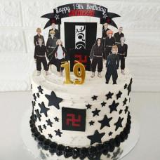 Торт Токийские Мстители на день рождения