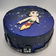 Торт с мальчиком Astroboy