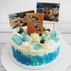Торт Go Astro Boy Go!