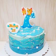 Торт маме золотая рыбка