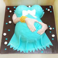 Торт для беременной женщины