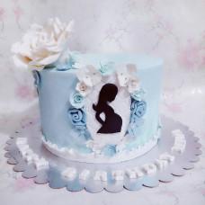 Торт беременной на день рождения