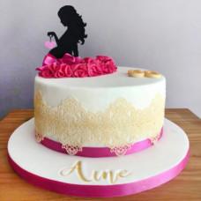 Торт для беременной девушки