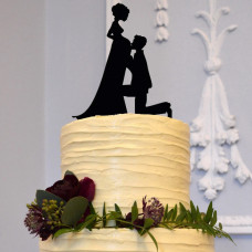 Торт беременной жене