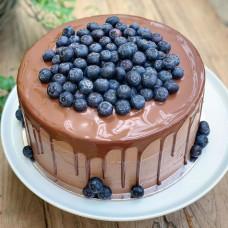 Торт без глютена с ягодами