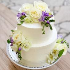 Свадебный торт без глютена